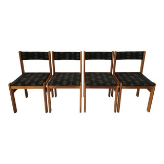 Danish Gangso Mobler Oak Dining Chairs - Set of 4 For Sale