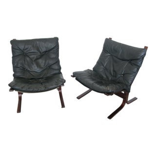 1960s Vintage Ingmar Relling for Westnofa Siesta Chairs - A Pair For Sale