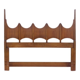 Mid-Century Queen Size Headboard by Thomasville For Sale