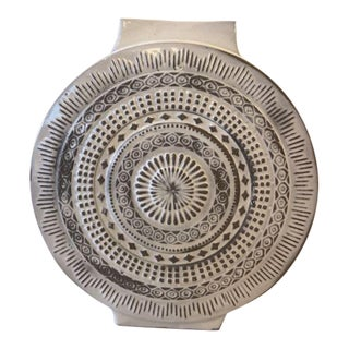 Cb2 Contemporary Round Vase For Sale