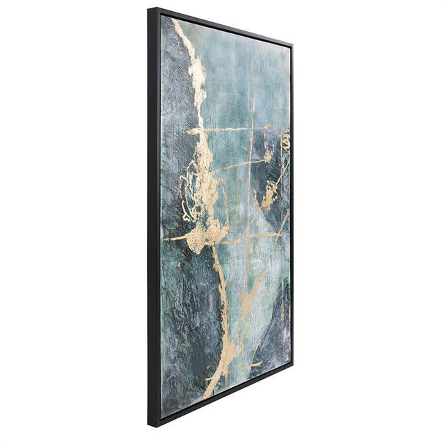 Abstract Kenneth Ludwig Chicago Ocean Wave Number 2 Painting For Sale - Image 3 of 6