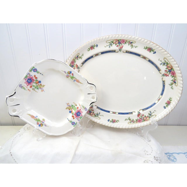 Syracuse China Vintage Mismatched China Dessert Set - 21 Pieces For Sale - Image 4 of 11