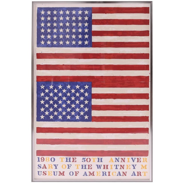 After Jasper Johns, the 50th Anniversary of the Whitney Museum of American Art For Sale - Image 4 of 4