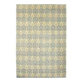 """Bohemian Hand-Knotted Area Rug 12' 1"""" x 18' 0"""" For Sale"""