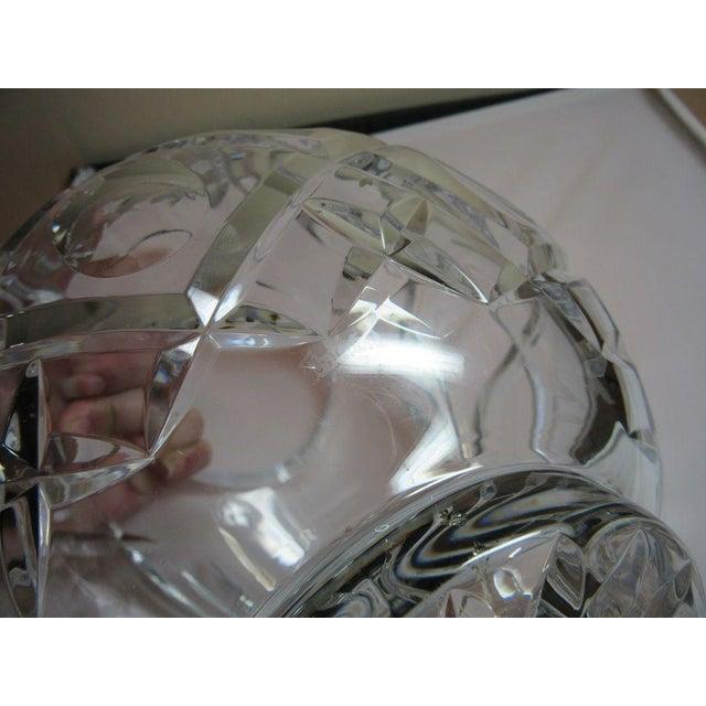 Clear Cut Crystal Rose Bowl Vase - Image 10 of 10