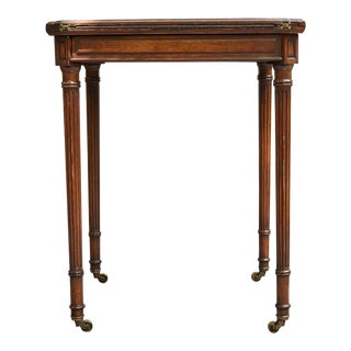 English Regency Handkerchief Game Table For Sale