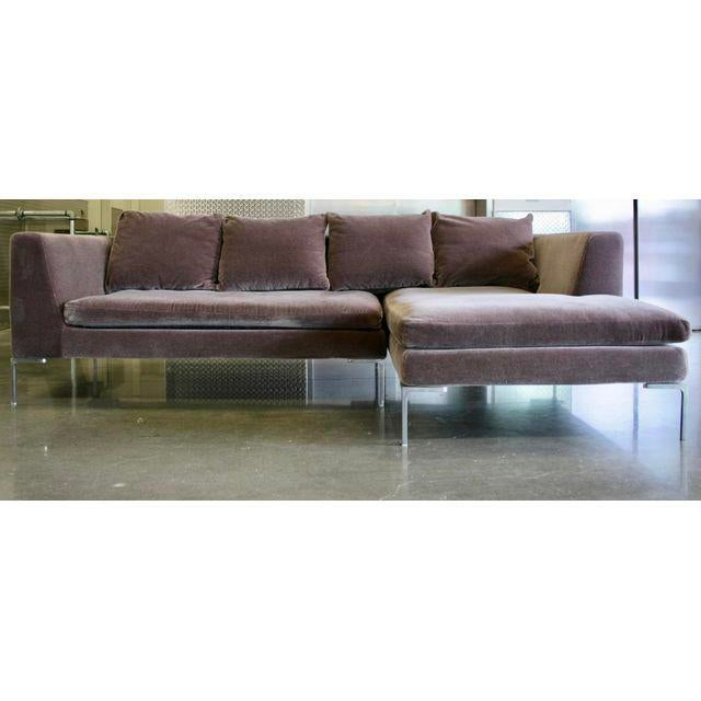 Charles Sofa by Antonio Citterio for B&b Italia in Mohair - Image 3 of 10