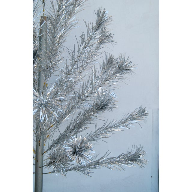 Mid-Century Atomic Style Aluminum Christmas Tree - Image 6 of 11