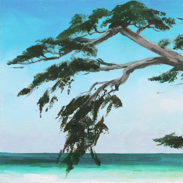 'Carmel Beach, Low Tide' by Kathleen Murray, California Woman Artist For Sale - Image 4 of 9