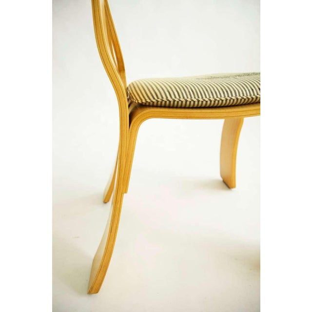 1980s Pair of Robert Venturi Empire Chairs For Sale - Image 5 of 10