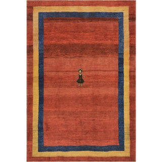 Mansour Authentic Persian Gabbeh Rug For Sale