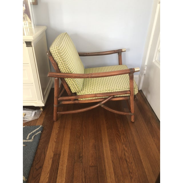 Mid Century Vogue Rattan Bamboo Chair Chairish