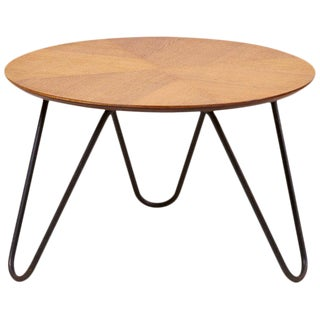 Coffee Table by Jacques Hitier for Tubauto, France, 1950 For Sale