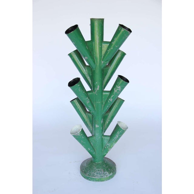 Metal French Flower Market Bouquet Holder For Sale - Image 7 of 9