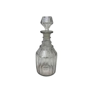 English Crystal Decanter For Sale