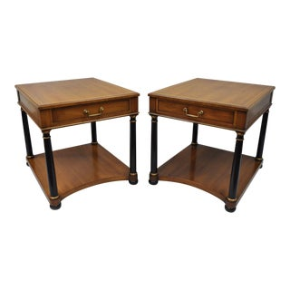 Heritage Henredon Empire End Tables - A Pair