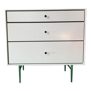 Mid-Century White Dresser For Sale