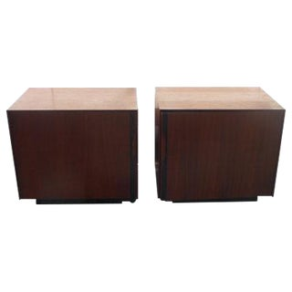 John Kapel Mid-Century Nightstands - A Pair For Sale