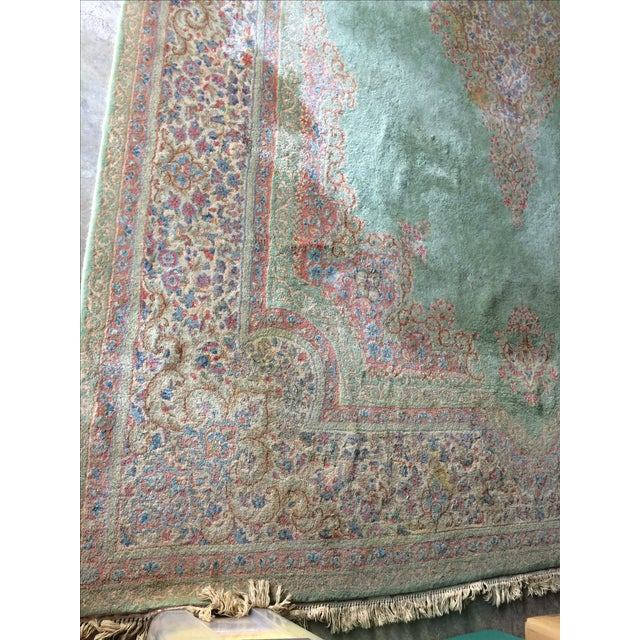 Traditional Iranian Handmade Wool Rug - 14′ × 10′ - Image 5 of 11