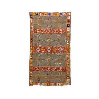 "Aknif Moroccan Rug, 4'7"" X 8'0"" Feet"