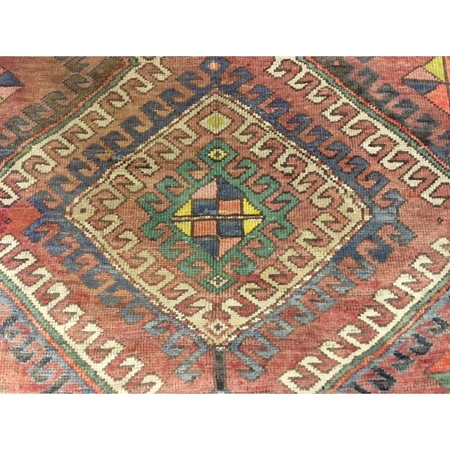 "Vintage Bellwether Rugs Turkish Oushak Rug - 5' x 9'3"" - Image 4 of 10"