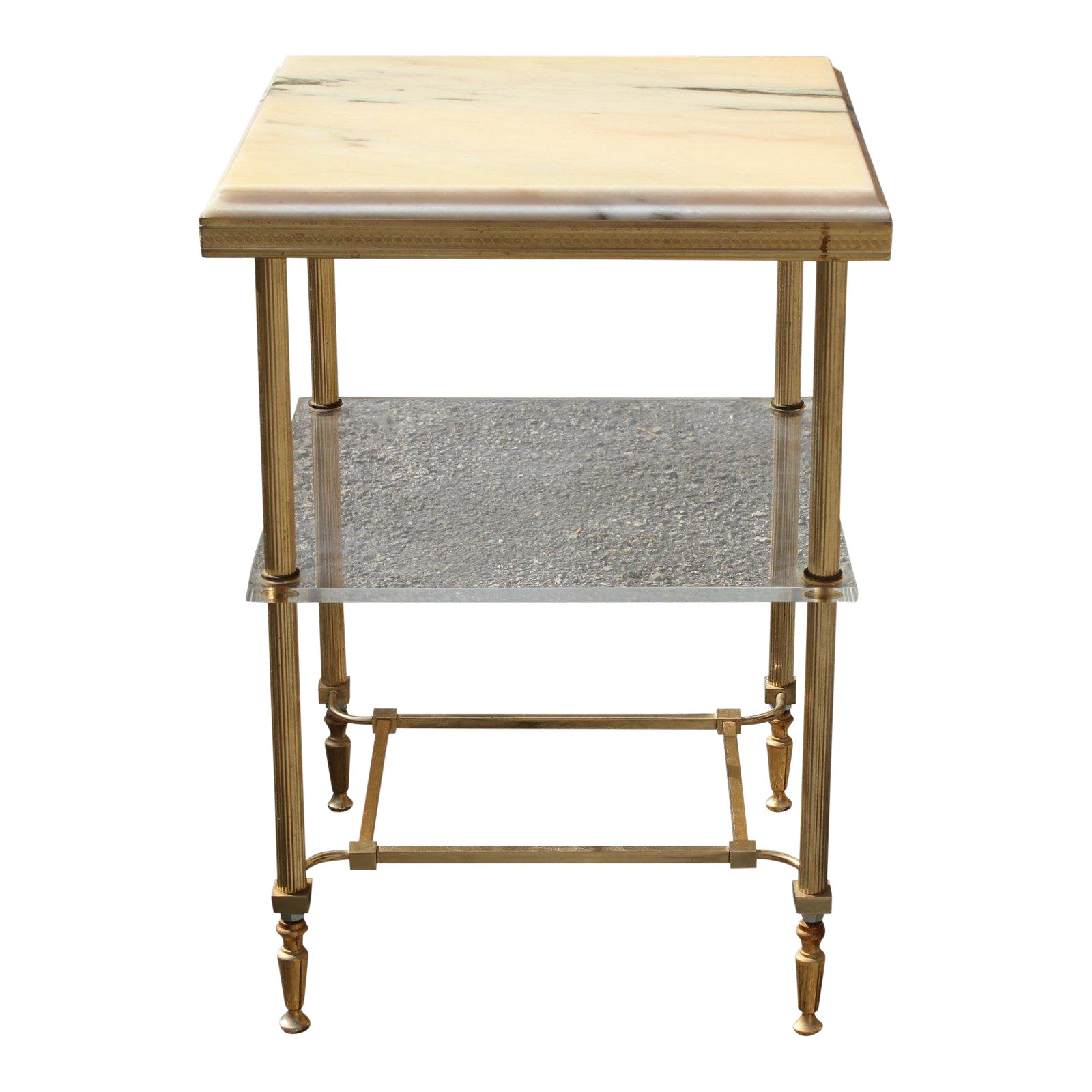Sophisticated 1940s Maison Jansen Art Deco Coffee Or Side Table