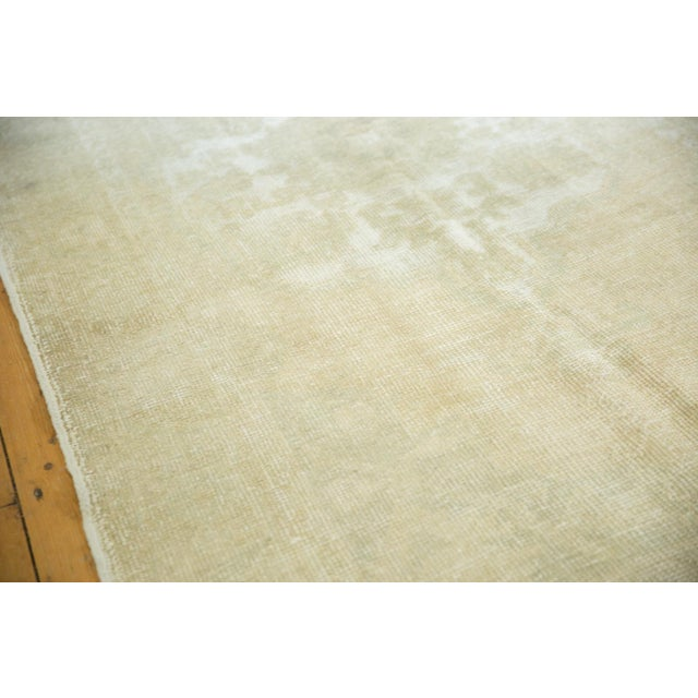 """Distressed Oushak Rug - 4'6"""" X 8' For Sale - Image 10 of 13"""