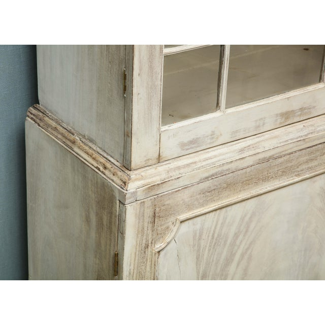 19th Century Painted English Cabinet For Sale - Image 10 of 13