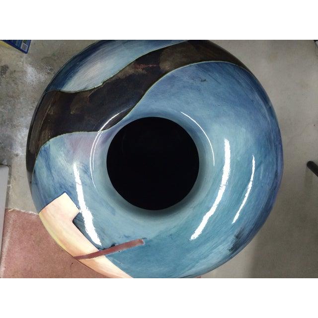 Contemporary Southwest Vessel/Vase For Sale - Image 4 of 7