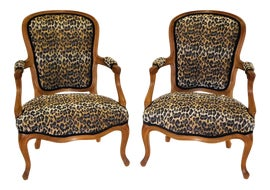 Image of Burnt Umber Side Chairs