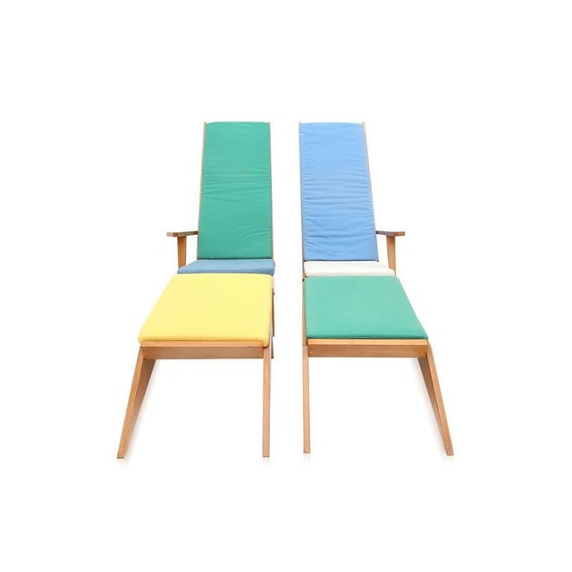 1970s Swimming Pool Lounge Chairs - a Pair For Sale - Image 4 of 11