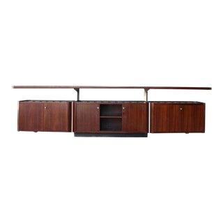 Rosewood Cabinet by Osvaldo Borsani for Tecno, Italy, 1960s For Sale