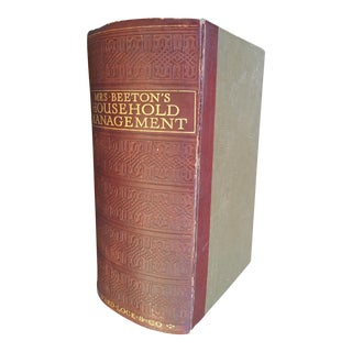 Victorian Downton Abbey Mrs Beeton Cookery Book