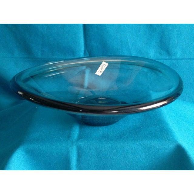 Per Lutken Danish 1962 Smoked Glass Bowl - Image 4 of 5