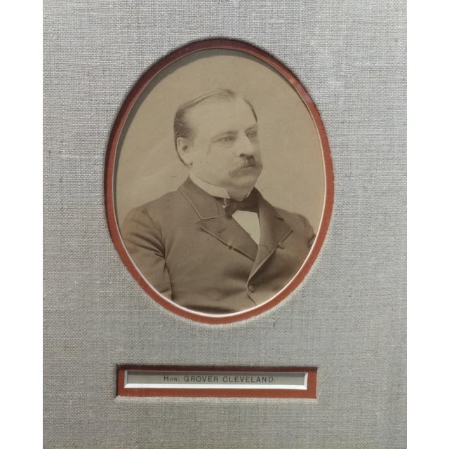 Grover Cleveland -22nd & 24th US President - Original Signature with Photograph-1891 For Sale - Image 4 of 7