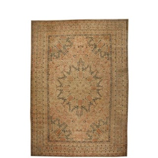 Exceptional Oversize Antique 19th Century Turkish Hereke Carpet For Sale