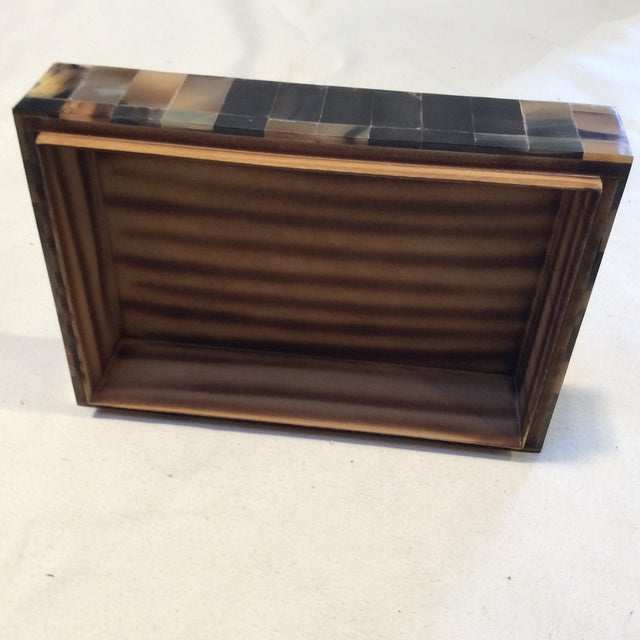 Large Multicolor Horn Box - Image 5 of 6