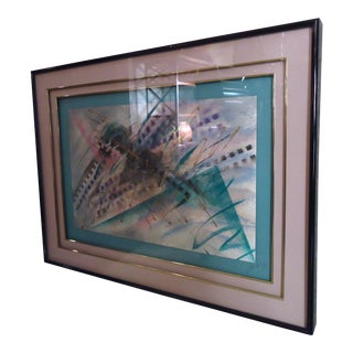 Decorative Wall Art Signed by Artist For Sale