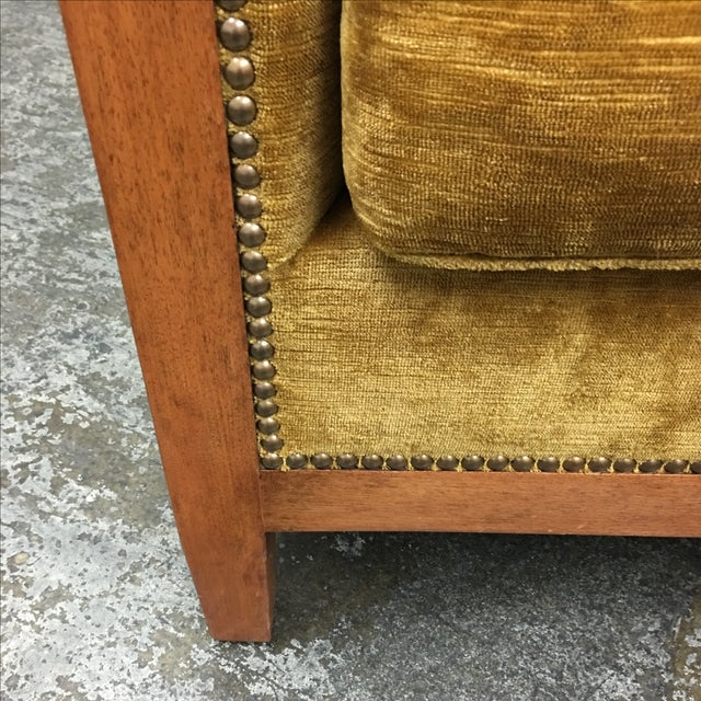 Dessin Fournier Arm Chair For Sale - Image 7 of 9