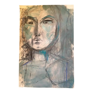 """JJ Justice """"She Thought So"""" Painting"""