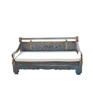 Turquoise Opium Lounge Daybed