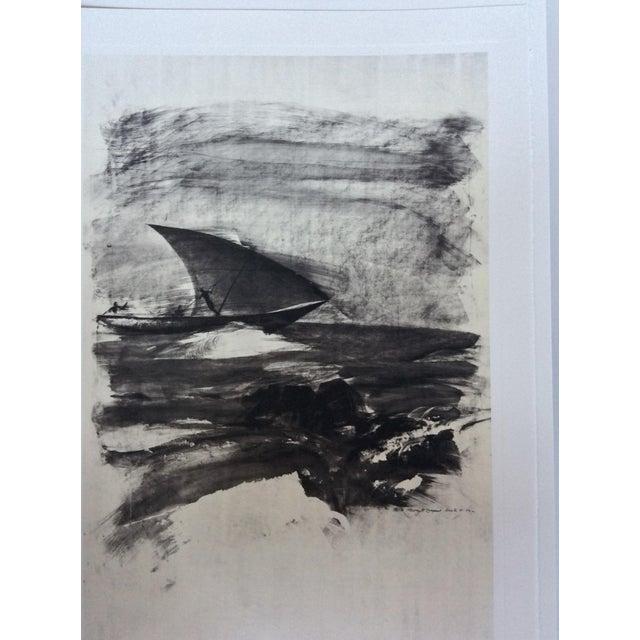 """Thierry Despont Lithograph Portfolio of Rimbaud's Poem """"Le Bateau Ivre"""" For Sale - Image 4 of 10"""