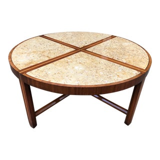 Tommi Parzinger for Charak Modern Coffee Table For Sale