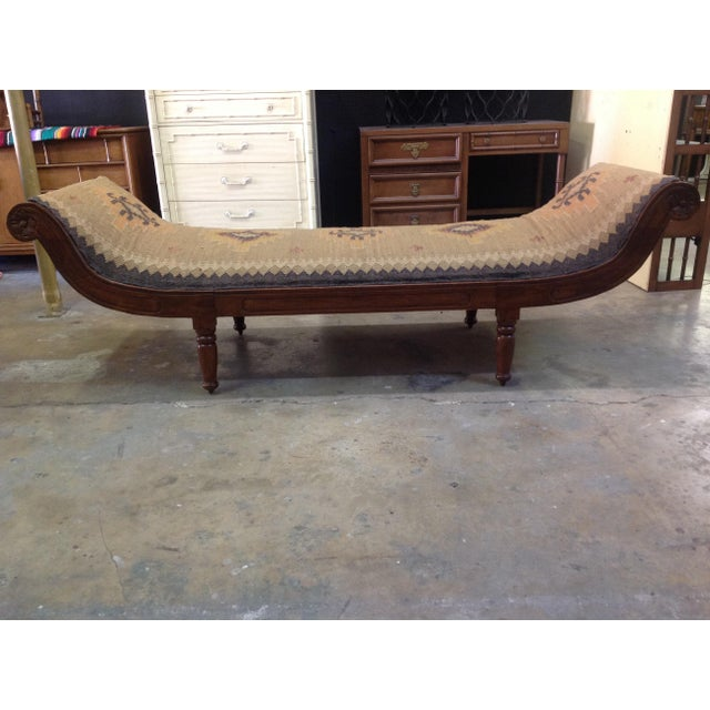 Antique Kilim Daybed - Image 3 of 6