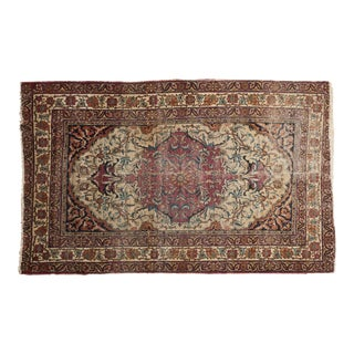 "Antique Kermanshah Rug - 4'1"" x 6'7"" For Sale"