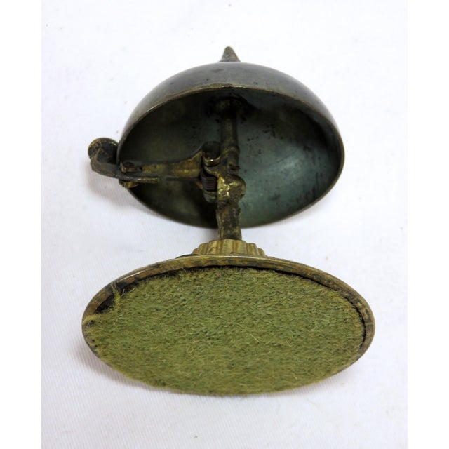 1860s Antique Bronze Front Desk Bell For Sale In Boston - Image 6 of 7