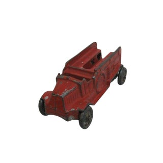 1930s Antique Diecast Tootsie Toy Fire Truck For Sale