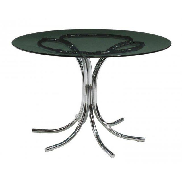Contemporary Italian Modern Dining Table in the Style of Bertoia, Circa 1970 For Sale - Image 3 of 3