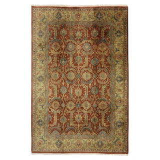 20th Century Indian/Persian Area Rug - 6′1″ × 9′ For Sale