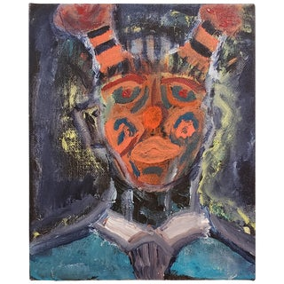 Vintage Kachina Painting For Sale
